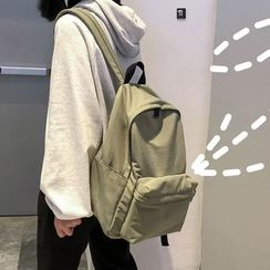 MUSA - Plain Nylon Backpack