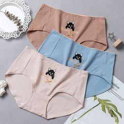 Sockaday(ソッカデイ) - Cat Print Panty