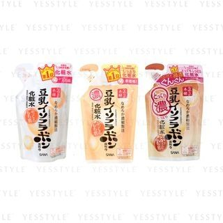 SANA - Soy Milk Moisture Toner Refill 180ml - 3 Types