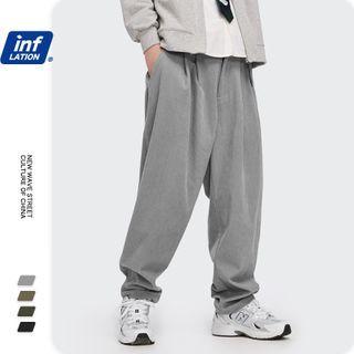 Newin - 灯芯绒宽松直筒裤