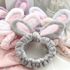 BEANS - Haarband mit Hasenohren für die Gesichtsreinigung