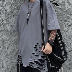 2DAWGS - Short-Sleeve Ripped T-Shirt