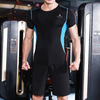 RITMO - Set: Short-Sleeve Quick Dry Top + Shorts