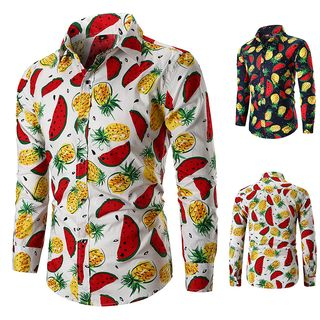Peibo - Fruit Print Shirt