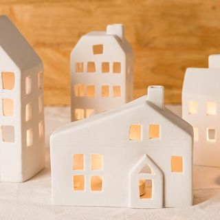Modern Wife - Ceramic House Candle Holder