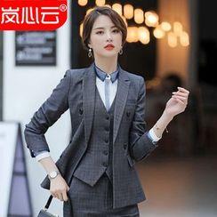 Skyheart - 格子西装外套 / 西裤 / 铅笔裙 / 衬衫 / 马甲 / 套装