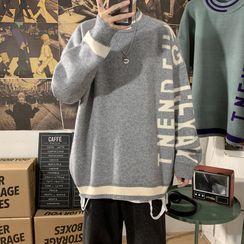 Avilion(アヴィリオン) - Lettering Sweater