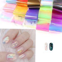 Monoe - Iridescent Nail Art Stickers