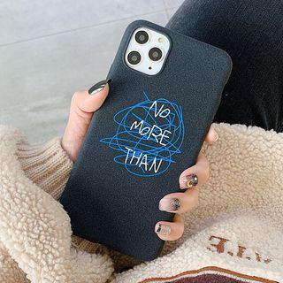 Aion - 线圈英文11Pro/Max苹果X/XS/XR适用手机壳iPhone7p/8plus磨砂软壳