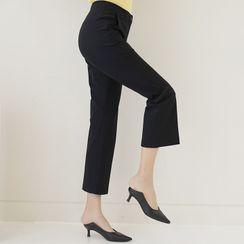 Lemite - Semi Boot-Cut Dress Pants