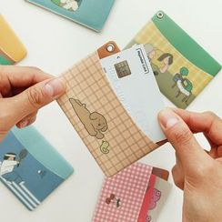 iswas - 'Indigo' Series Printed Card Holder