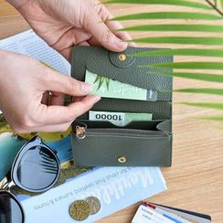 BABOSARANG - 'ALLDAY' Series Genuine Leather Card Wallet