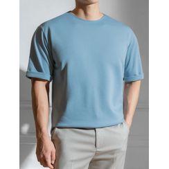 STYLEMAN - Rollup-Sleeve T-Shirt
