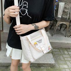 EAVALURE - Lettering Crossbody Bag