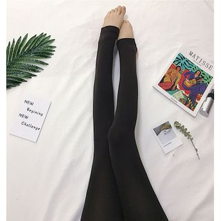 Tonni's - Fleece-Lined Tights / Stirrup Tights / Leggings