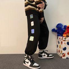 Groove Tower - 印花弹簧绳运动裤
