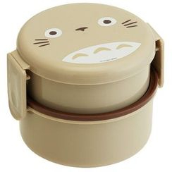 Skater - My Neighbor Totoro Round Lunch Box 500ml (with Fork)
