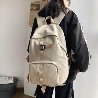 Gokk(ゴック) - Canvas Zip Backpack