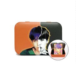 MTPR - BTS Suga Face Illustration Contact Lens Case