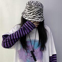 INStudio - Zebra Print Bucket Hat
