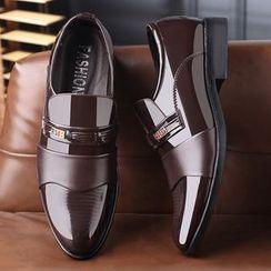 Kayne H - 漆皮樂福鞋