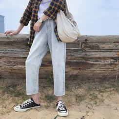 JORZ - 直身牛仔裤