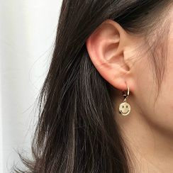 Kokyu - Smiley Face Drop Earring