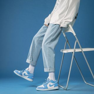 Furtheron - 水洗直筒牛仔裤