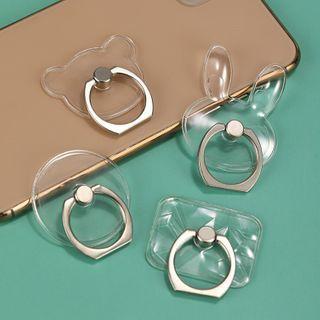 Jadette - Transparent Adhesive Phone Ring Stand