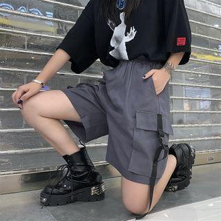 Porstina - Buckled Cargo Shorts