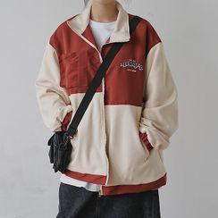 Fella - Color Block Zip Jacket