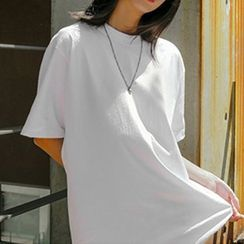 XGZ - 短袖纯色宽松T裇