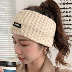 Miss Floral - 针织头巾