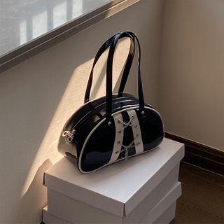 NiniChloe - Lace-Up Shoulder Bag