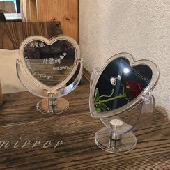 Michu - Plastic Heart Desktop Mirror