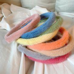 Pouffle - 毛絨髮箍