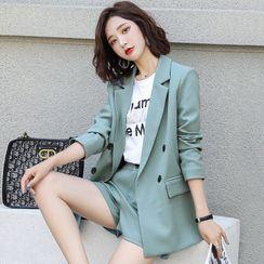 Romantica - Set: Double-Breasted Blazer + Shorts