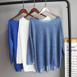 Winkplay - Open Knit Dance Top