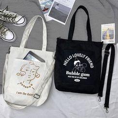 Basaran - 印花帆布手提袋 (多款设计)
