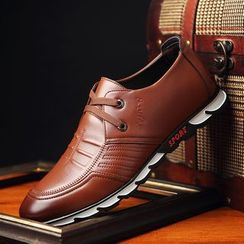 Viffara - Faux Leather Oxfords