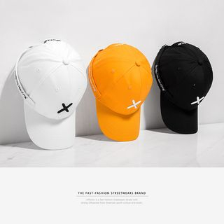 Newin - Tie-Accent Embroidered Baseball Cap