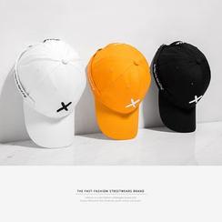 Newin - 英文绣花织带棒球帽