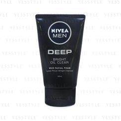 NIVEA - Men Deep Bright Oil Clear Mud Facial Foam