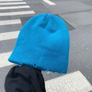 Birravin - 做旧针织无边帽