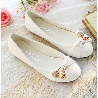 佳美 - 缀饰平跟鞋