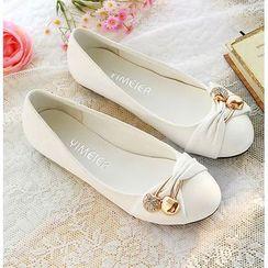 Shoes Galore - Embellished Flats