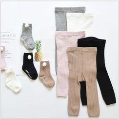Cloud Femme - Kids Set: Leggings + Lettering Socks