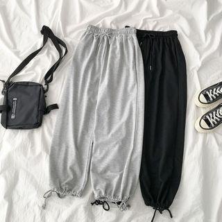 Ayibu - Plain Harem Sweatpants