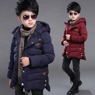 PAM - Kids Hooded Padded Zip Jacket