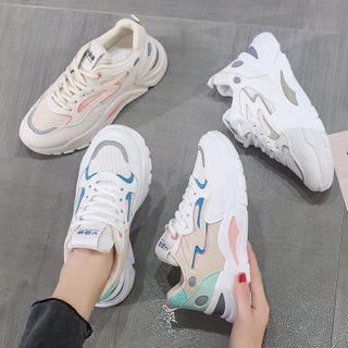 Shanhoo - Chunky Platform Sneakers
